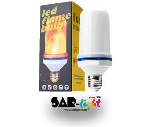 LED FLAME SIJALICA E27