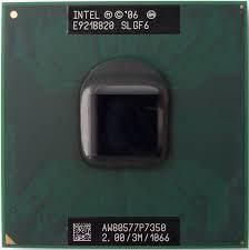 Procesor za laptop Intel Core2Duo P7350