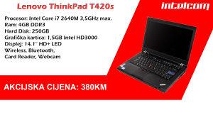 Lenovo ThinkPad T420s Core i7 2nd gen.