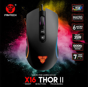 Fantech X16 Thor II Gaming Mis LED