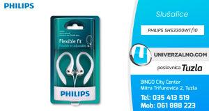 Slušalice sportske PHILIPS SHS3300WT/10
