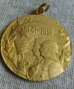 Medalja znacka deseto godisnjica Jugoslovenske armije