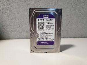 1TB WD PURPLE HDD video nadzor kamera WD10PURX