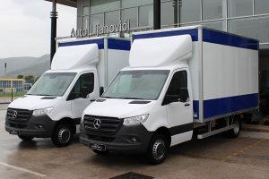 Mercedes-Benz Sprinter 511 CDI Long Alu BOX