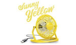USB Ventilator Sunčano žuta TVE 1Y