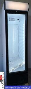 Klimasan rashladna vitrina D418GCDC premium