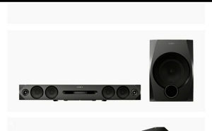 Soundbar sony HT-Gt1