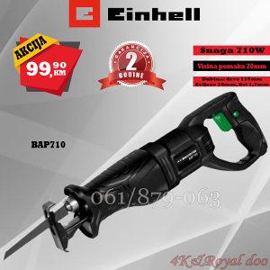 EINHELL (BAVARIA) BLACK BAP 710 KRUŽNA PILA