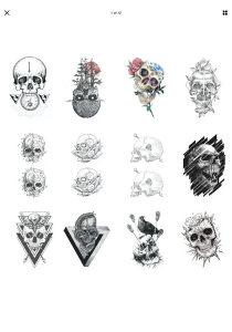 Tetovaze tatu tattoo #M10 DOSTUPNO