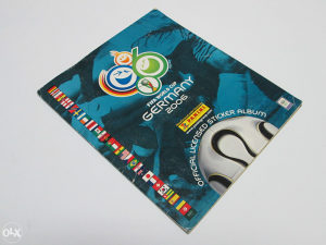 Lot od 4 Panini albuma World Cup i Euro