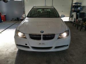 BMW E90 E91 325XI 330XI 325i dijelovi AUTO OTPAD LCI