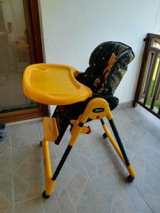 Prodajem stolicu za hranjenje beba/djece - Chicco