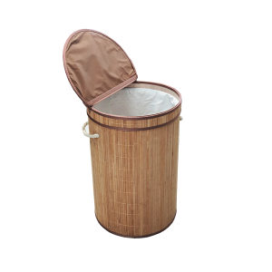Bambus korpa za veš okrugla FI40