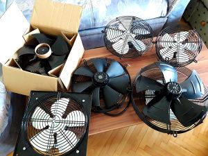 Ventilator ventilatori prostora zidni ugradbeni