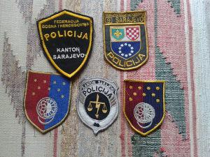 lot za kolekcionare policija SA-KANTON