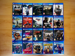 PS4 igre igrice FarCry Witcher Assassin's Creed FIFA