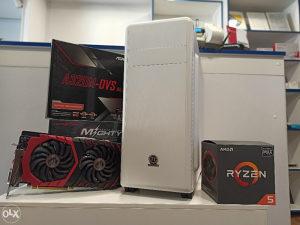 Gaming racunar Ryzen 5 2600x / 8GB DDR4/ SSD/ GTX 1060*
