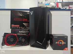 Gaming računar Ryzen 5 2600x GTX1060 3GB SSD 120 GB*