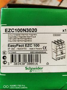 Prekidač EZC 100 15kA/400 3P/3T 20 A Schnaider