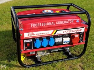 Agregat/Generator 6500W POWERTECH Germany