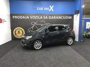 Opel Mokka 4x4 1.6CDTI 2016g. SERVISNA KNJIGA
