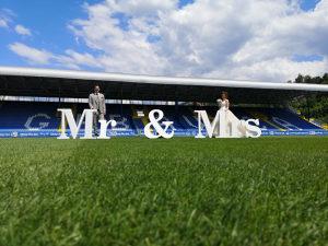 Svadbene dekoracije Mr & Mrs