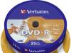 DVD-R MEDIJ VERBATIM 25PK CB P 16X 4,7GB