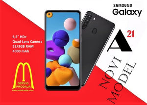 Samsung Galaxy A21 novi model na rate