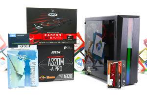 Gaming PC CR100 3; R7 2700; RX 570; 120GB SSD; DDR4
