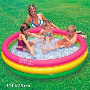 Bazen za djecu djeciji bazen 114 x 25 cm INTEX NOVO