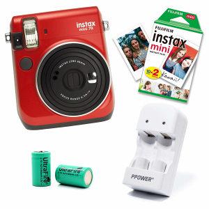 Fuji Instax Mini 70, 20 papira, baterije, punjač PCFOTO