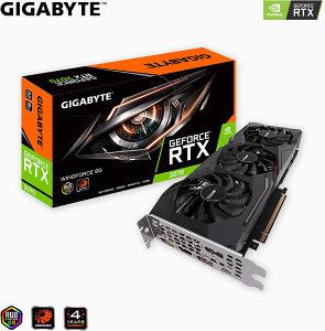 Gigabyte RTX 2070 RTX2070 WindForce 2 8GB DDR6 Dx12