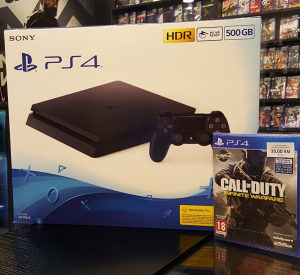 PlayStation 4 500GB + Call Of Duty Infinite Warfare PS4