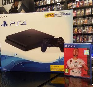 Sony PlayStation 4 500GB + FIFA 20 PS4