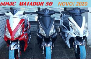 Skuter motocikl motor MATADOR 50 Sonic 2021