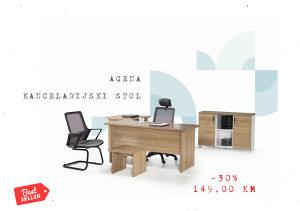AGENA RADNI STOL 160x69x75