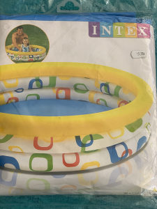 Bazen djeciji / bazen za djecu na napuhavanje Žuti / NOVO