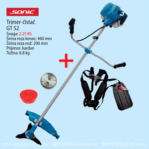 Benzinski trimer - čistać SONIC GT 52