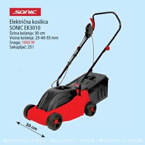 Električna kosilica SONIC EK3010 1000W
