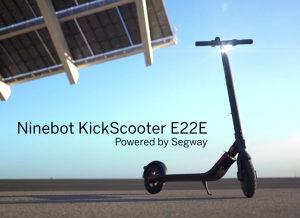 """Segway E22 9"""" romobil KickScooter E22E skuter trotinet"""
