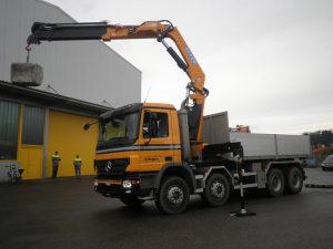 EFFER 225 kamionska dizalica / kran