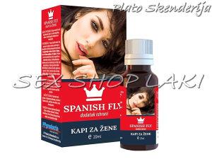 Kapi za žene Afrodizijak Španska mušica - SEXshopLAKI