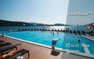 Neum: Hotel Sunce****