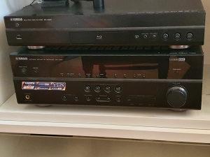SOLD Yamaha Pojačalo RX-V667, Set zvučnika