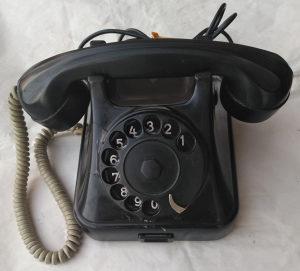 Telefon Iskra Kranj ATA 12 Bakelit retro