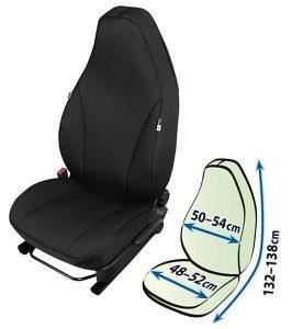 Presvlaka sjedala Kegel Comfort Plus, crna, veličina L