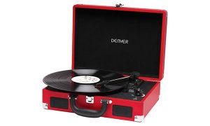 Denver VPL-118 Gramofon Remenski pogon Crvena - 661045