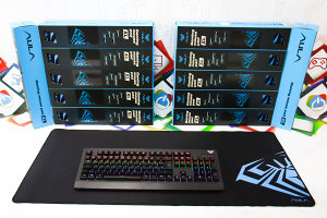 Gaming podloga za miš i tipkovnicu AULA XL
