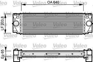 Hladnjak zraka 5065J81X - Volkswagen Crafter 05-17