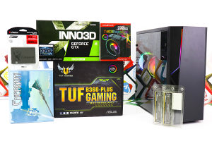 Gaming PC B-02-2; i5-9400F; GTX 1660 Super; 480GB SSD